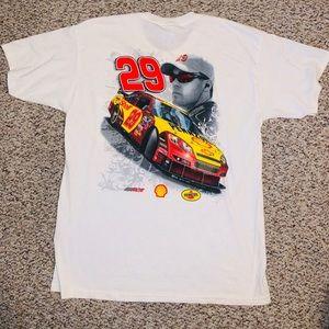 Kevin Harvick #29 Shell RCR Large pocket t shirt